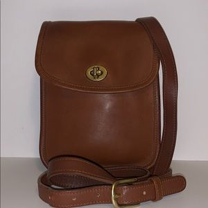 Vintage Coach Scooter Sidepack Crossbody bag